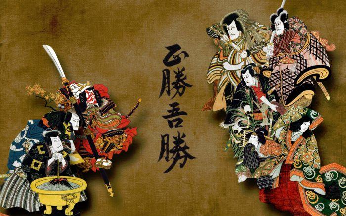 Artistic Japanese Scene